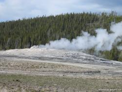 Old Faithful in Yellowstone starting to fume.jpg