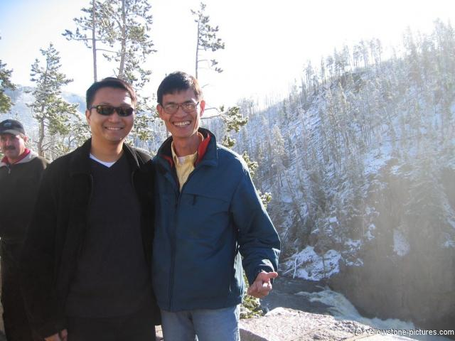 David and Tour guide in Yellowstone Park.jpg