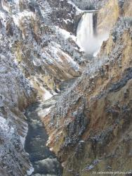 Yellowstone waterfall and stream in the Canyon.jpg