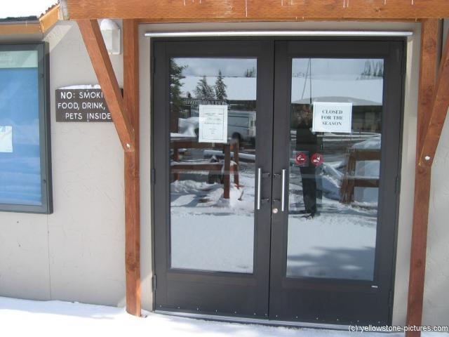 Yellowstone Canyon Visitor Center is closed for the season.jpg